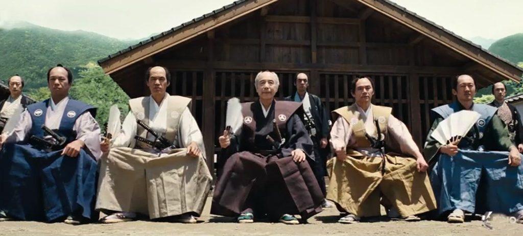 Působivý historický snímek z Japonska 17. století.